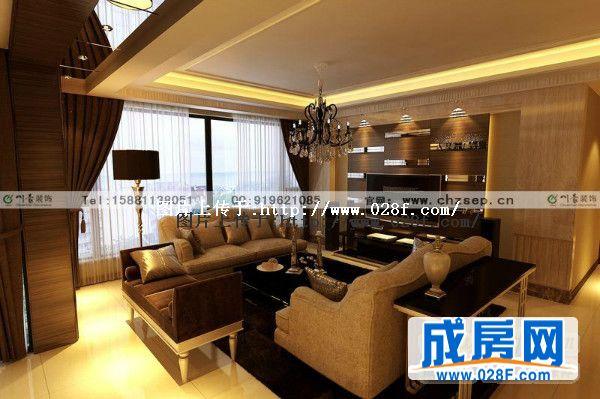 本案为成都装修公司川豪装饰,晶蓝半岛现代风格装修实景图,现代风格装修案例。整个空间的色调以金属感极强的黄色体现,背景墙的设计加入了不锈钢条,增加了整个房间的现代感,这也是现代风格的元素体现 --------------------------------------------------------- 川豪装修咨询:15881138051 028-85509877(聂锦屏) 川豪咨询QQ :919621085 川豪官方网站:www.