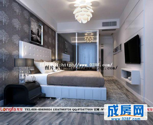 黑白灰装修首选龙发装饰,设计简约时尚,室内整体搭配以黑白灰色调为主