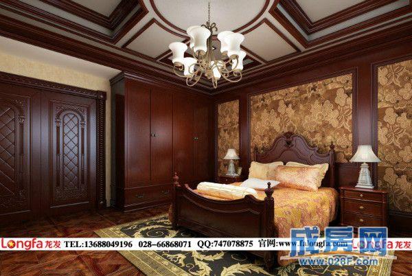 城南逸家别墅美式风格装修图片
