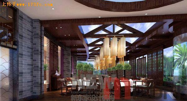 彭州酒楼设计,彭州餐饮会所设计