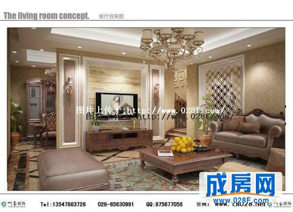 金堂别墅装修图片金堂蓝光观岭欧式风格装修设计 整套案例中有的不只是豪华大气,更多的是浪漫和惬意,通过完美的曲线,精益求精的细节处理,带给家人不尽的舒适感。在整个居室中,电视墙主要使用了浅咖色石材的造型,地砖采用了拼花的斜贴法与墙面相互辉映,客厅和餐厅的吊顶都用了比较复杂,具有欧式风味的石膏线条多层吊顶,更完美的体现出欧式风格的豪华与大气 精致的壁纸,欧式家具的精心挑选,吊顶墙面的装饰,让整个家舒适又带着小奢华。对于婚房装修来说,低调的小奢华实在让人感觉很舒服,有着高品质