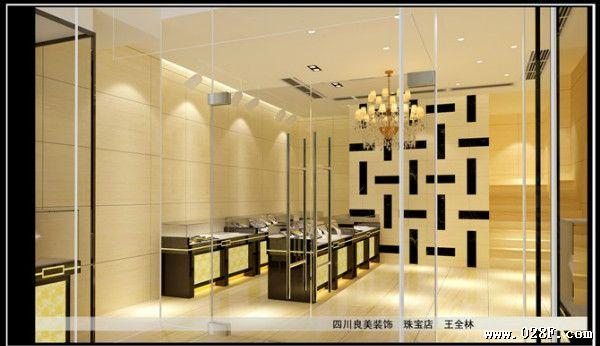 成都饰品店装修设计 最好的银饰店装修设计