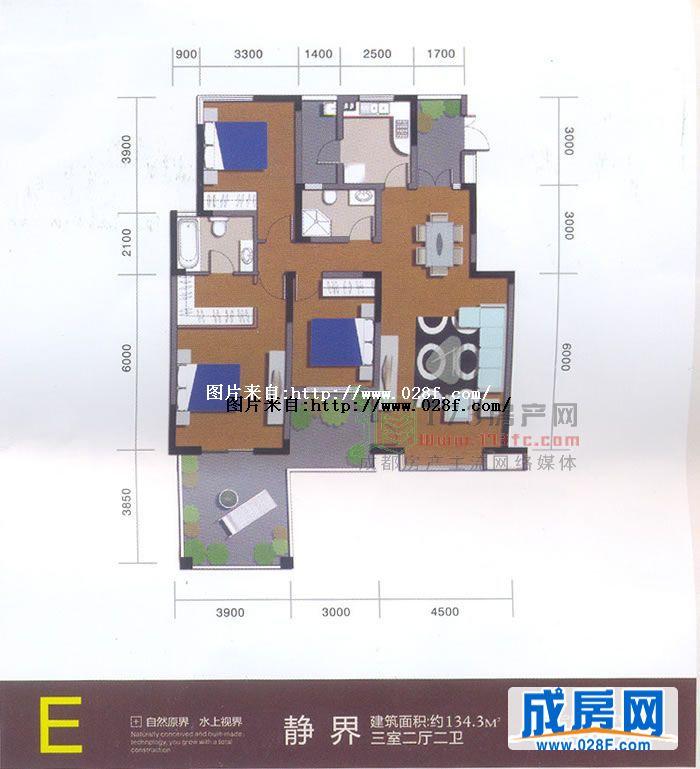 香洲半岛—户型图展示-成都新房-成都楼盘|成都房产网