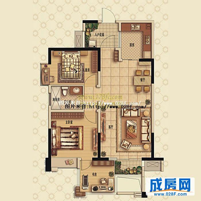 120一层房子设计图展示