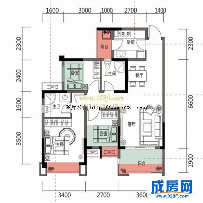 两个铺面的房子设计图